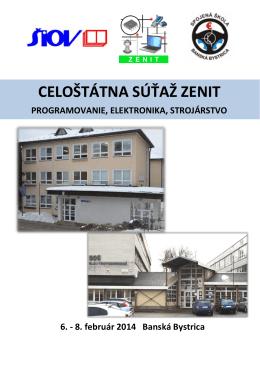 Bulletin ZENIT - SŠ - SOŠ elektrotechnická, Banská Bystrica