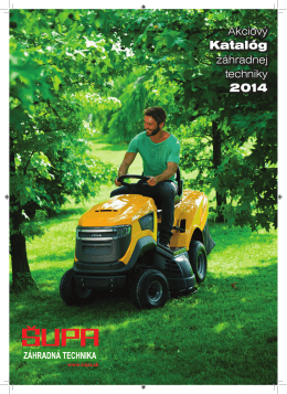 supa-katalog-2014 - Záhradná Technika Galanta