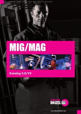 katalóg MIG/MAG