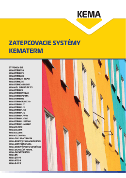 KEMA - Katalóg 2011 SVK Kematerm