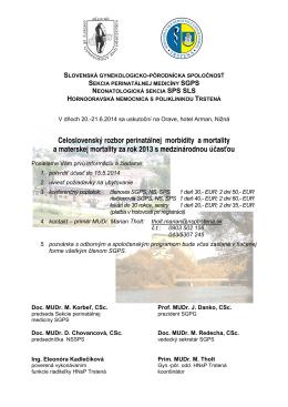 (Pozvánka rozb.2014) - Slovenská genekologicko