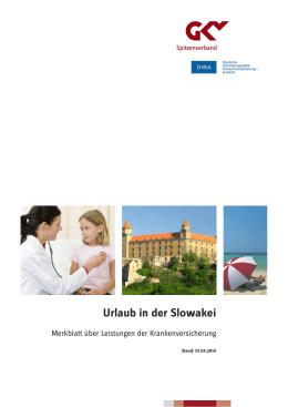 Urlaub in der Slowakei