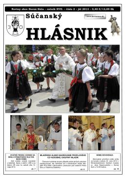 Súčanský hlásnik 2013 číslo 2.pdf