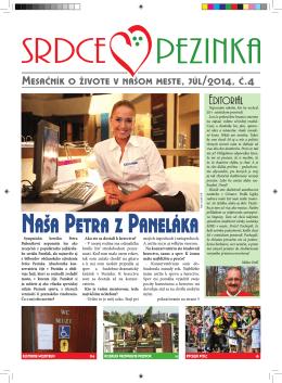 Júl 2014 - Srdce Pezinka
