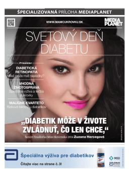 Špecializovaná príloha MEDIAPLANET – Svetový deň diabetu
