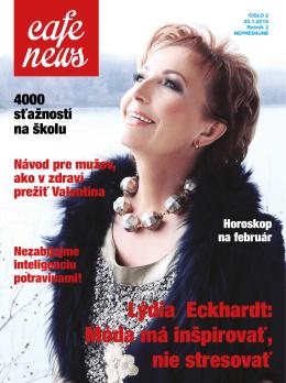 Lýdia Eckhardt: Móda má inšpirovať, nie stresovať