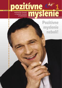 """Časopis """"Pozitívne myslenie - Medzinárodné centrum pozitívneho"""