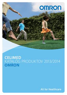 CELIMED KATALÓG PRODUKTOV 2013/2014 OMRON