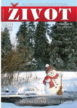 01 Styczen 2012[1].pdf - Towarzystwo Słowaków w Polsce