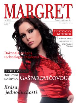 1. číslo - Časopis MARGRET