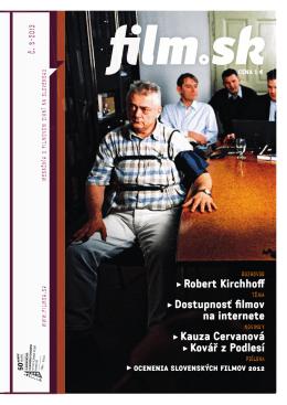 g Robert Kirchhoff g Dostupnosť filmov na internete g
