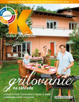 Pozrite si K magazín - leto 2013 (PDF)