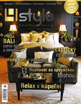 Vydanie Október - November 2012 v PDF