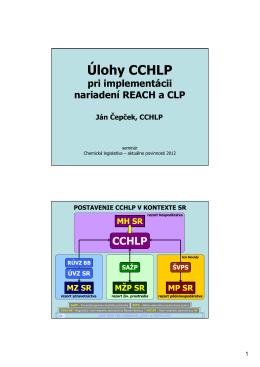 Úlohy CCHLP