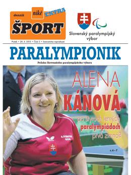 s. 6 – 7 - Slovenský paralympijský výbor