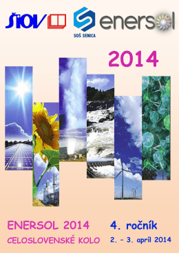 Buletin ENERSOL 2014