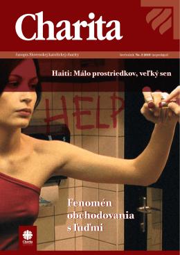 Fenomén obchodovania s ľuďmi Fenomén obchodovania s ľuďmi