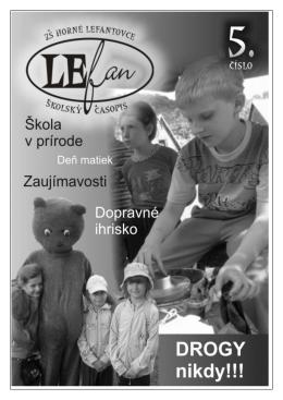 Časopis LeFan č.5