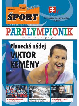 Na londýnskej paralympiáde sme splnili očakávania Václav Mika o
