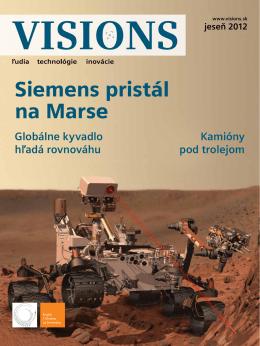Siemens pristál na Marse