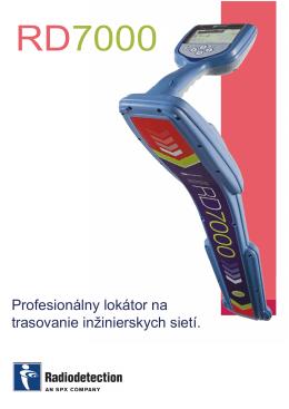 Prospekt - RD7000