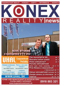 KONEX REALITY NEWS č.3