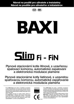 Návod - Baxi