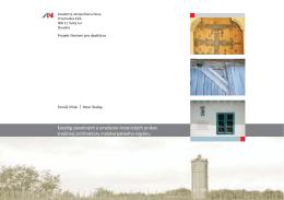 Katalóg stavebných a umelecko-historických prvkov tradičnej