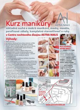 Kurz starostlivosť o ruky a nechty (manikúra suchá