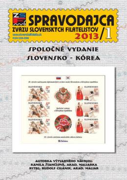 spoločné vydanie slovensko - kórea