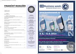 Zima 2012 - Slovenská asociácia podnikových finančníkov