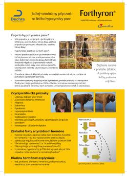 Čo je to hypotyreóza psov?