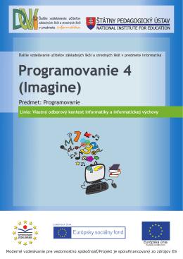 Kniha - Programovanie v Imagine 4
