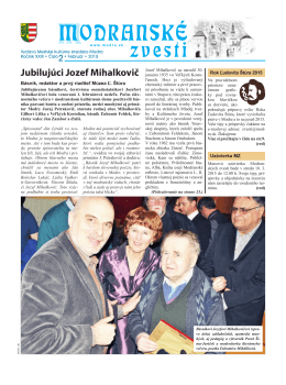 2/2015 - MSKS Modra