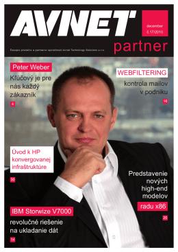 Peter Weber Kľúčový je pre nás každý zákazník Predstavenie