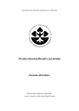Filozofický ústav Slovenskej akedémie vied v
