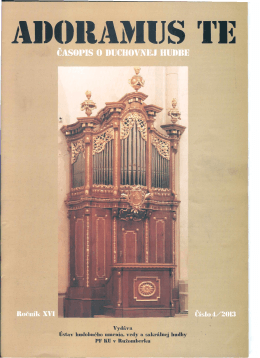 spôsoby vykonávania psalmódie v ranej cirkvi
