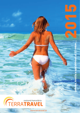 Katalóg 2015 - Terra Travel