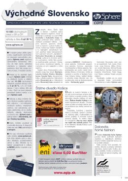 Regionálny news-východ SR