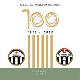 Buletin storočnice futbalu v Krompachoch