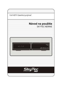 Pripojenie SKYTEC NERINE