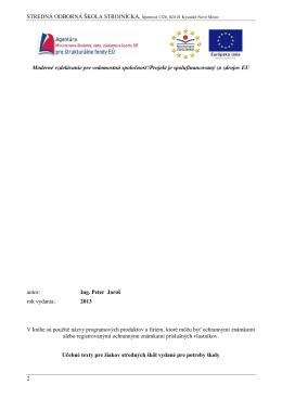Elektrické meranie.pdf - Stredná odborná škola strojnícka