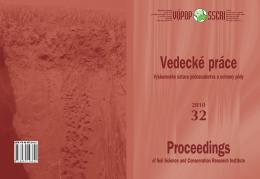 Rok 2010 - Výskumný ústav pôdoznalectva a ochrany pôdy