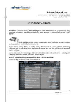 Návod na používanie Flash katalógu (PDF)