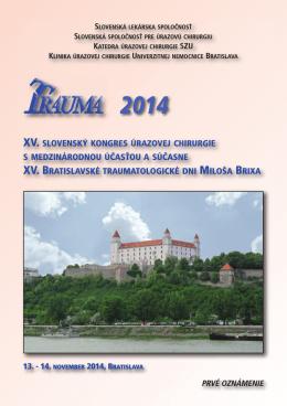 2014 - Slovenská lekárska spoločnosť