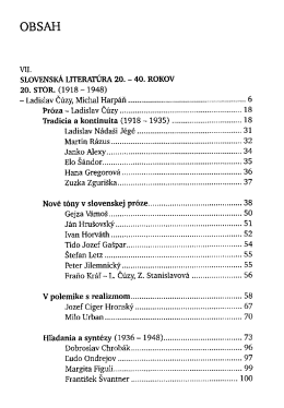 Dejiny slovenskej literatury / Imrich Sedlak a kolektiv