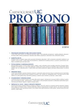 PRO BONO ULC 02 2014
