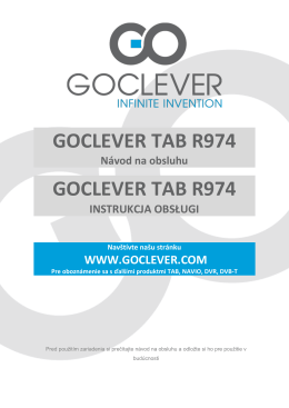 goclever tab r974 goclever tab r974