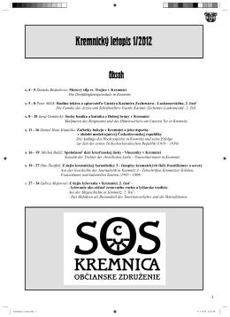 Kremnický letopis 1/2012 (21)