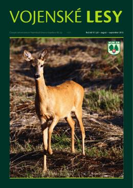 august – september 2013 - Vojenské lesy a majetky SR, š.p.